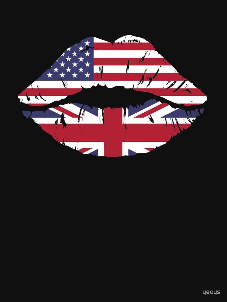 USA United Kingdom Kiss - Dual Citizenship von yeoys