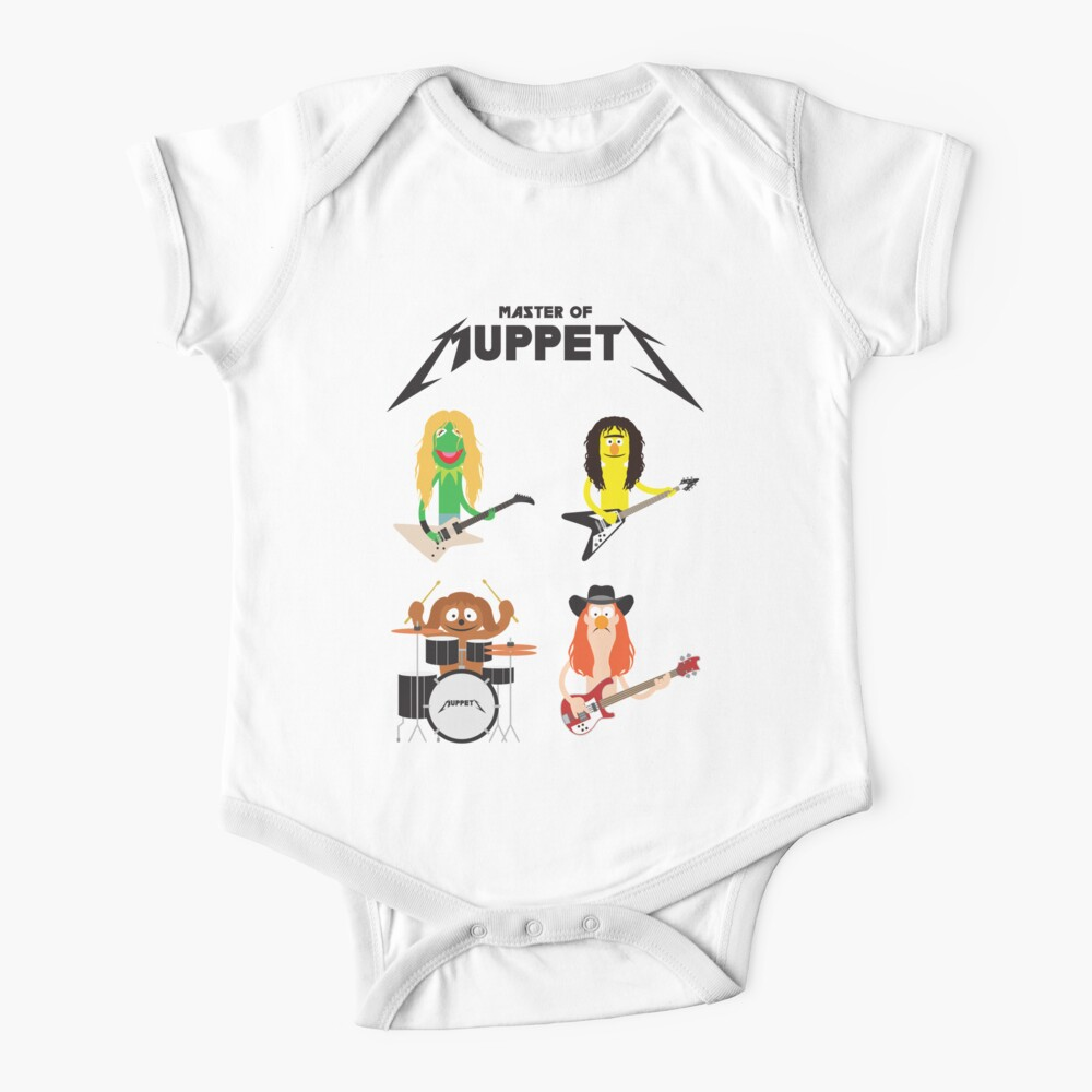 Master of Muppets - Muppets as Metallica Band Baby One-Piece