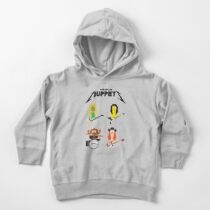 Master of Muppets - Muppets as Metallica Band Toddler Pullover Hoodie