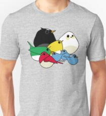 Not-so Angry Birds Unisex T-Shirt