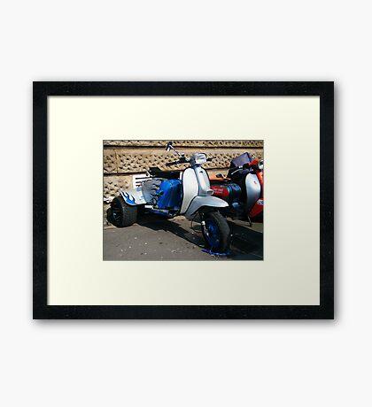 Scooter Trike Framed Print
