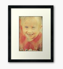 When You're Smilin' Framed Print