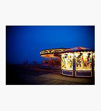 Carousel Craziness Photographic Print