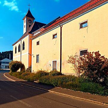 The village church of Eidenberg by patrickjobst
