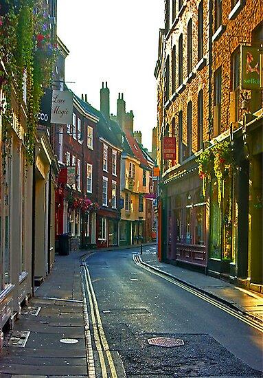 Low Petergate - York by Trevor Kersley