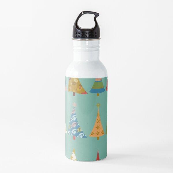 Christmas Trees Water Bottle
