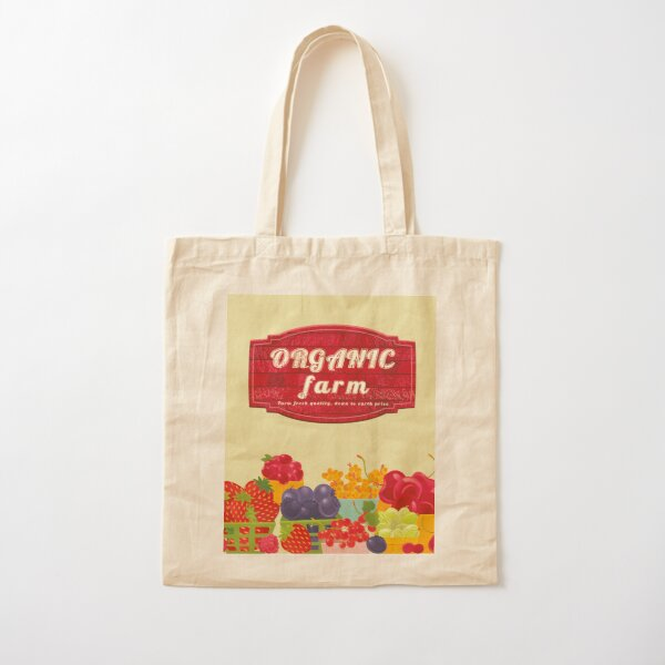 Organic Farm Cotton Tote Bag