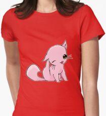 Myu the Candyfloss Cat... scratching! T-Shirt