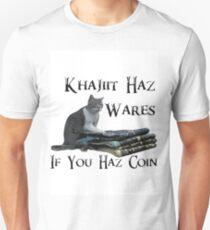 Khajiit Haz Wares - V.2 T-Shirt