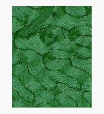 Green Fibre Photographic Print