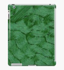 Green Fibre iPad Case/Skin