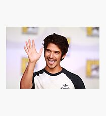 Tyler Posey Comic Con Photographic Print