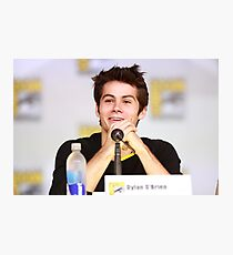 Dylan O'Brien Comic Con Smile Photographic Print