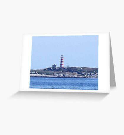 Sambro Island Lighthouse Greeting Card