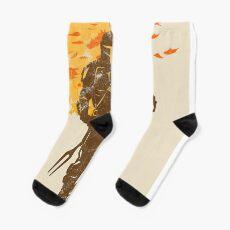 gold knight Socks