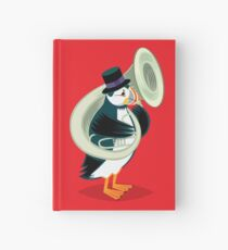 Puffin On A Tuba Hardcover Journal
