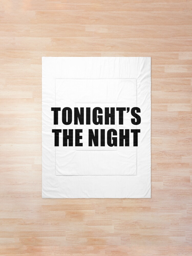Alternate view of Tonight's The Night Comforter