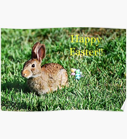 Happy Easter To Our Redbubble Friends! Poster