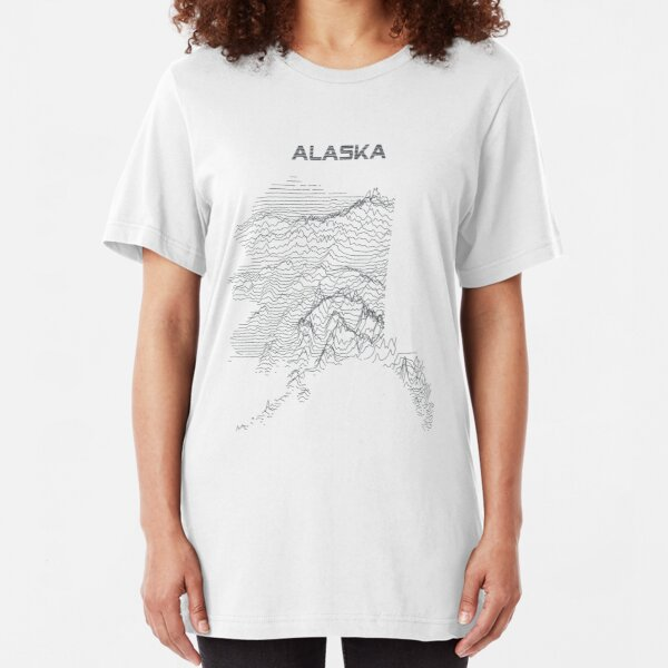 Unknown Elevations - Alaska Slim Fit T-Shirt