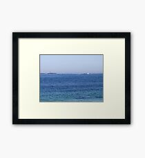 Sambro Island Light (02) Framed Print