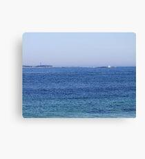 Sambro Island Light (02) Leinwanddruck