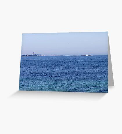 Sambro Island Light (02) Greeting Card
