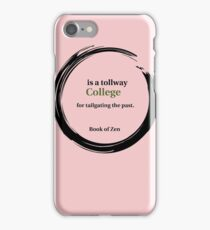 College Education Quote iPhone Case/Skin