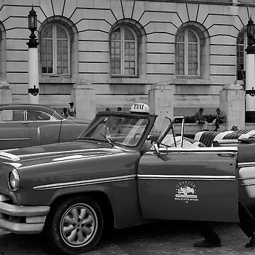 Havana Cab by sallypmoore