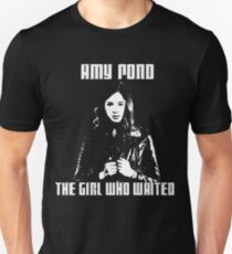 Amy Pond The Girl Who Waited Slim Fit T-Shirt