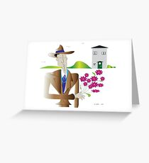 On the street where you live...... Greeting Card