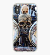 harley skulls iPhone Case