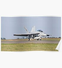 Taxiing back Poster