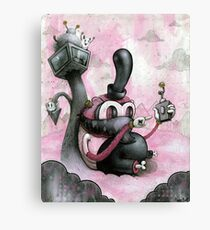 Hide & Sneak Canvas Print