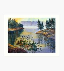 Muskoka Sunrise Art Print