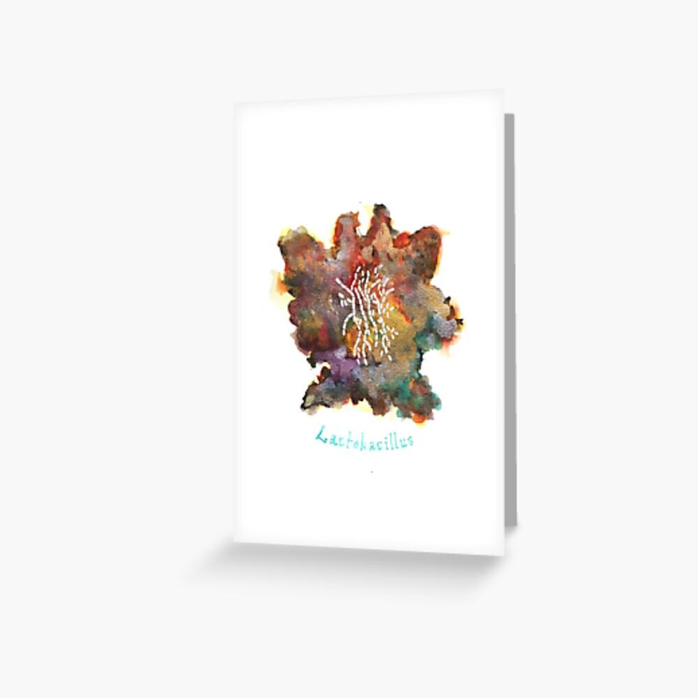 Lactobacillus Greeting Card Greeting Card