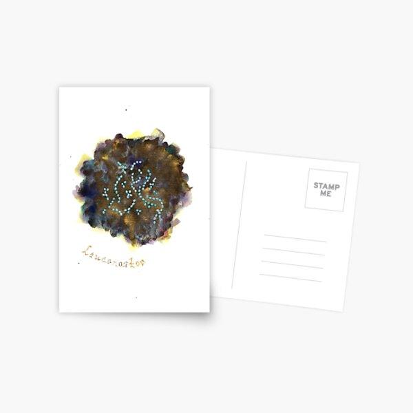 Leuconostoc Greeting Card Postcard