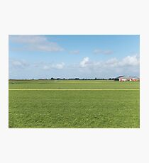 Tranquil field Photographic Print