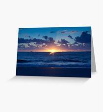 Sunrise Romance Greeting Card