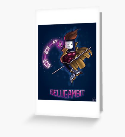 BeluGambit Print Greeting Card