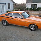 1972 VH Chrysler Valiant Charger at our new house by nosajnybor