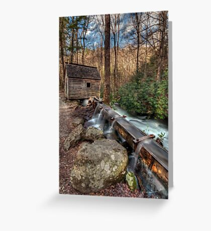 Tub Mill Greeting Card
