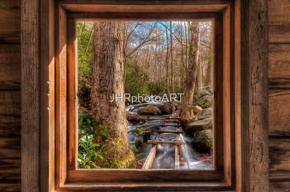 Tub Mill -  Window by JHRphotoART