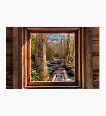 Tub Mill -  Window Photographic Print