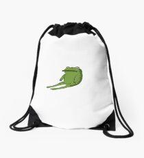 Greg's Frog Jason Funderburker Drawstring Bag
