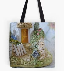 Miniature Cottage Welcome Tote Bag