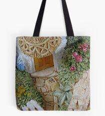Miniature Cottage _ Garden detail Tote Bag