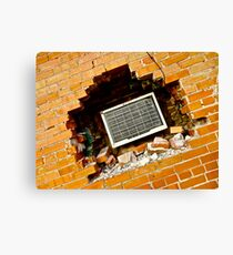 Precise Air Conditioning Installation Incorporated Canvas Print