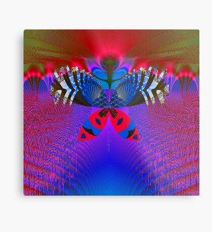 """Butterfly World"" Metal Print"