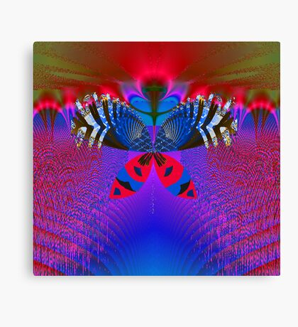 """""""Butterfly World"""" Canvas Print"""