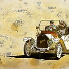 Vintage Gold by Steve  Woodman